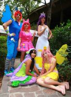 MLP Group by AmuChiiBunny