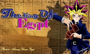 Pharoah Atemu King of Egypt by YamiAnzu39