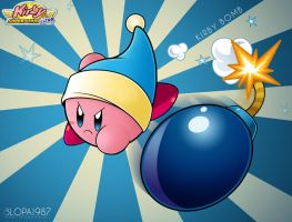 Kirby Bomb by Blopa1987