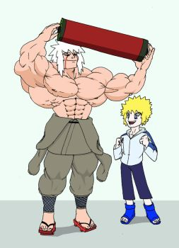 Musclejiraiya by chocomus