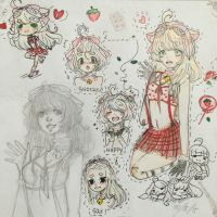 Candii sketchpage by AlisaFimu