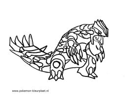 primal groudon coloring page by jpijl on deviantart