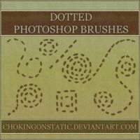 dotted doodle brushes by chokingonstatic