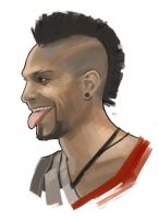 Vaas Montenegro - Far Cry 3 by RoyalAstray