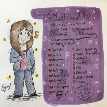 Meet the Artist thingie 2.0 by HAS10401