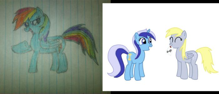 How Far I've Come In The Past Few Months by MyLittleCreations