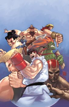 Street Fighter 2 Cover by UdonCrew