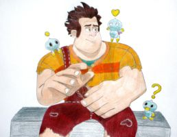 Wreck-It Ralph and Chaos by Terra-of-the-Forest