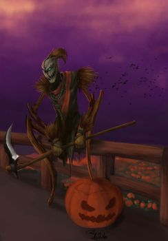 Fiddlesticks is Ready for Halloween !!! by PatrickAugusto