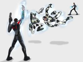 Mass Effect Biotic Powers by HerpDerp187