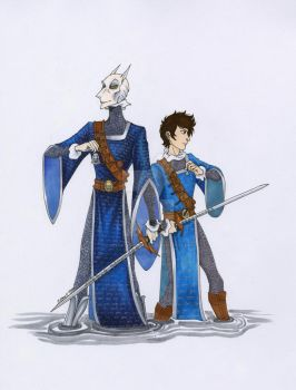 Abhorsen and Apprentice by LadyoftheGeneral