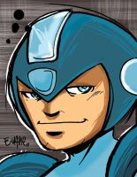 megaman leftovers by eugenecommodore