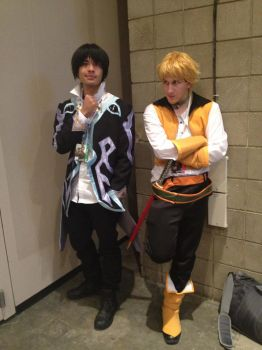 Jude and Guy cosplay by Volaro