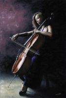 Emotional Cellist by ryoung