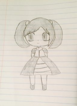 A Little Girl by SweetMelody0405