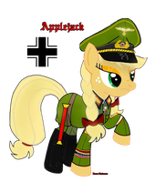 Field Marshall Applejack. by fORCEMATION