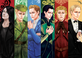 tom hiddleston filmography by Tahiddy