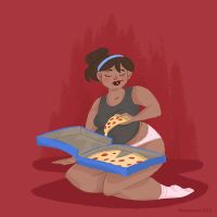Every Pizza is a Personal Pizza by Planetsaurus