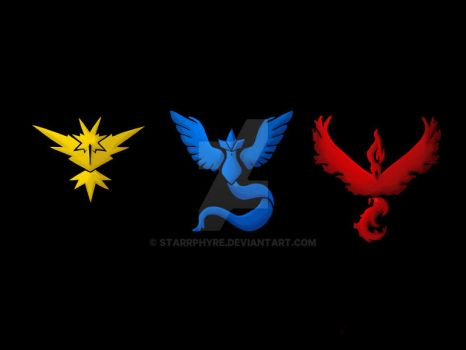 Instinct, Mystic, Valor by Starrphyre