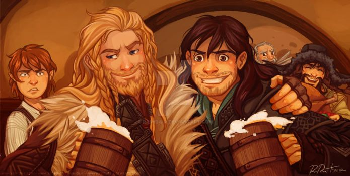 What Are All These Dwarves Doing In My House?! by ramida-r