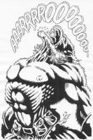 Man-Wolf from Unknown Issue by Stonegate