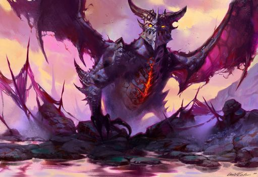 Deathwing the Destroyer by UnidColor