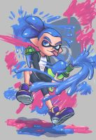 Splatoon! by Artsenseiofdreams