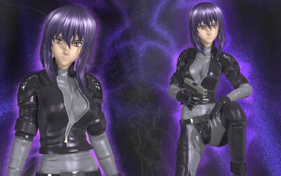 Major Motoko by Primantis