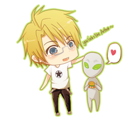 APH Alfred And His New Friend by bianca0908