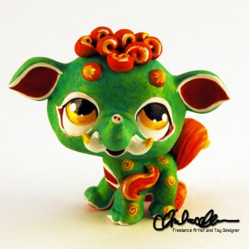 Kawaii Baku Spirit- custom LPS by thatg33kgirl