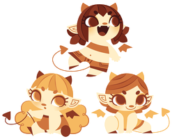 Choco Demons by Sprits
