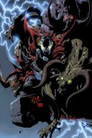 Spawn Pinup by edtadeo