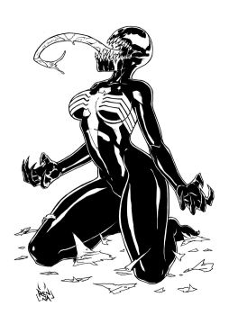 COMMISSION Ann Weying Symbiotetransformation INK 3 by MarkReindeer