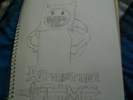 Drawing: Finn the Human by TheSonicfan8