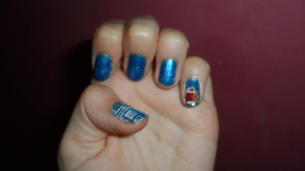 Dr Who Nails - 2 by Cooldawg
