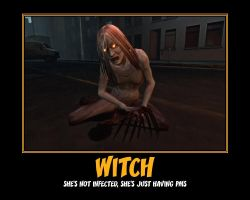 L4D - Witch by PrincessBloodyMary
