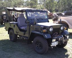 Mitsubishi 'Jeep' on display by RedtailFox