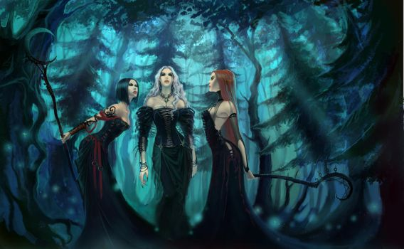 Witches blues by anndr