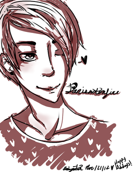 Danisnotonfire sketch by Dgrayscythe21