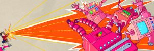 Yoshimi Battles the Pink Robots by str4yk1tt3n