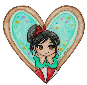 Vanellope-Valentine by kawaii-candy-chan
