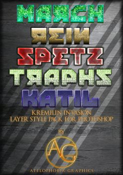 KREMLIN INVASION - free photoshop layer styles by Atelophobia-Graphics