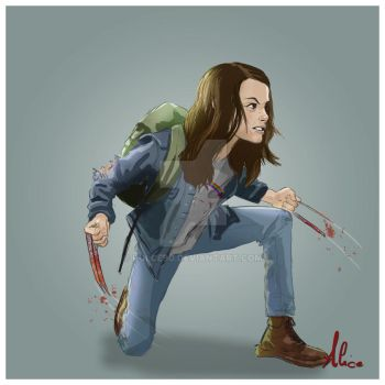 X-23 From Logan by Pulce90