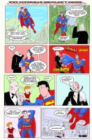 Why Superman Shouldn't Drink by storyteller1023