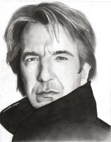 Alan Rickman by sprockervp