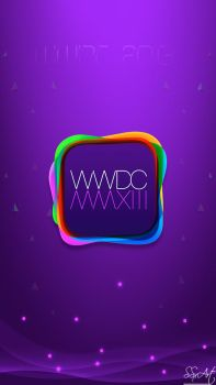 WWDC 2013 Apple event W-For iphone5 ipod 5th-Gen by SSxArt