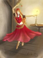 Dancing Rose by cat-named-fish