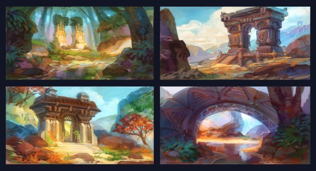 Lost archs by Real-SonkeS