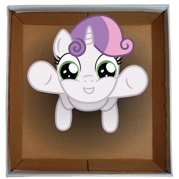 Sweetie Belle Box by exe2001