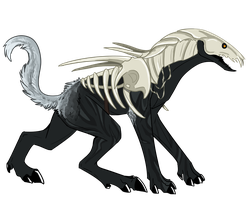 Dire Wolf - Color by Feralkyn on DeviantArt